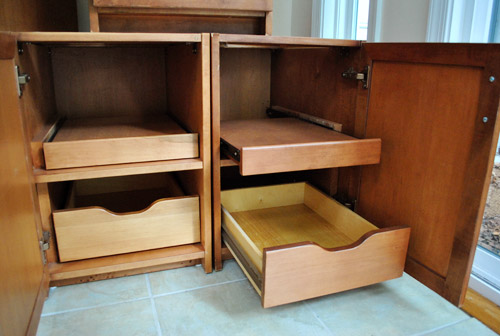 Easy Accessibility Cabinets Atlanta Campbell Cabinetry